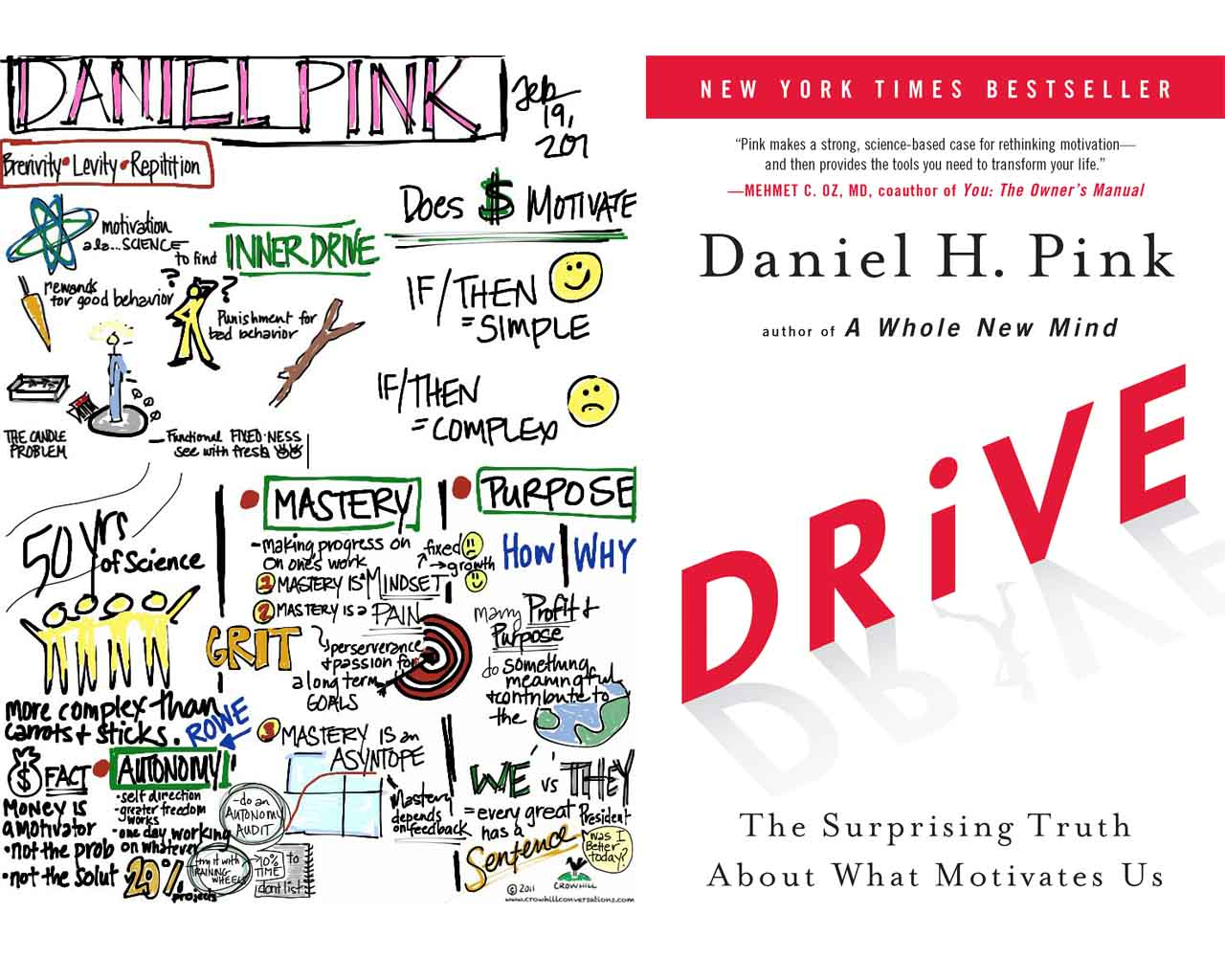 drive by daniel pink Ever since i began my teaching career, i have been fascinated with the topic of motivation and the role it plays in student learning daniel pink's book, drive: the.