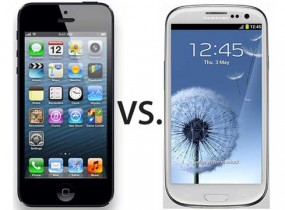 Samsung versus iPhone