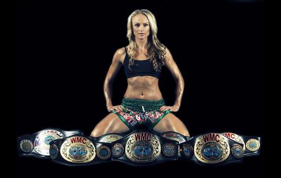 Muay Thai Female Fighter