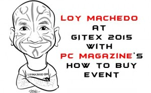 Loy Machedo at GITEX 2015