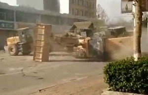 Bulldozer Fight