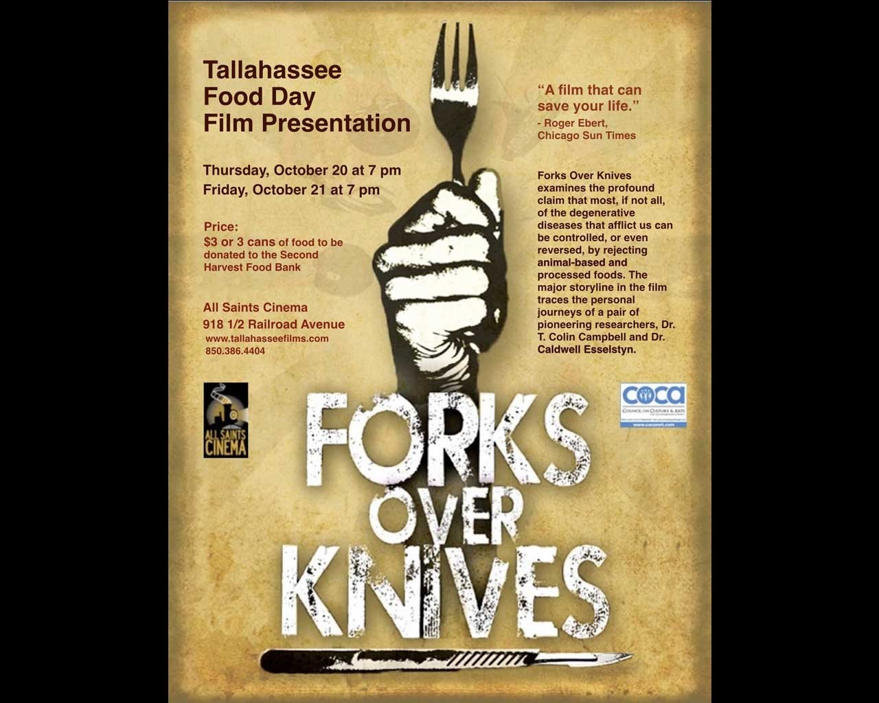 Loy Machedo's Movie Review – Forks Over Knives (2011)