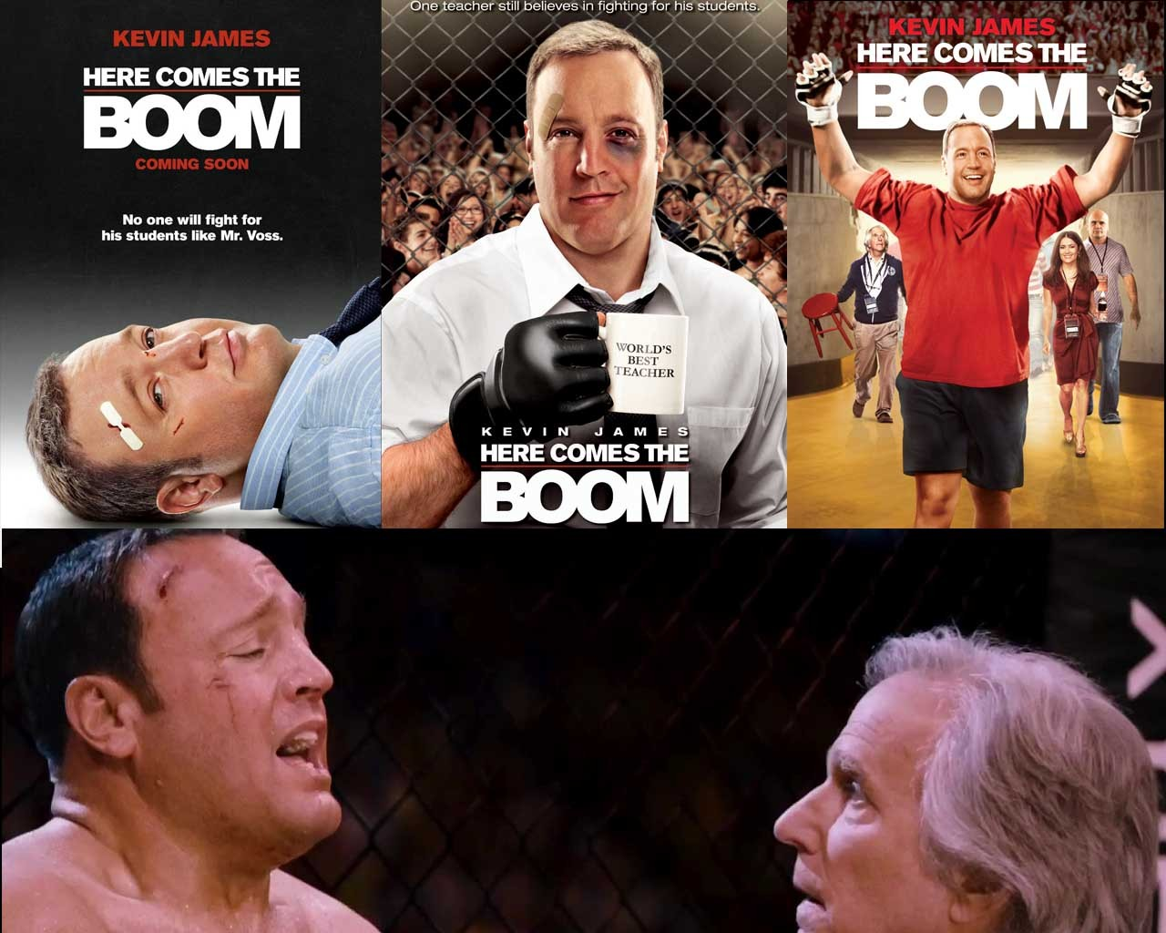 Loy Machedo's Movie Review – Here Comes the Boom (2012)