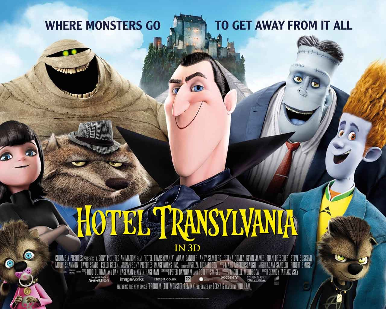 Loy Machedo's Movie Review – Hotel Transylvania (2012)