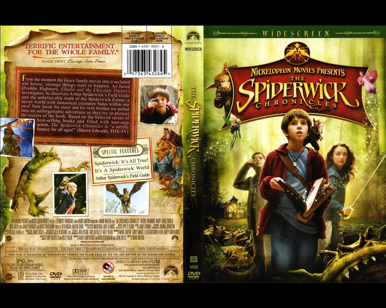 Loy Machedo S Movie Review The Spiderwick Chronicles