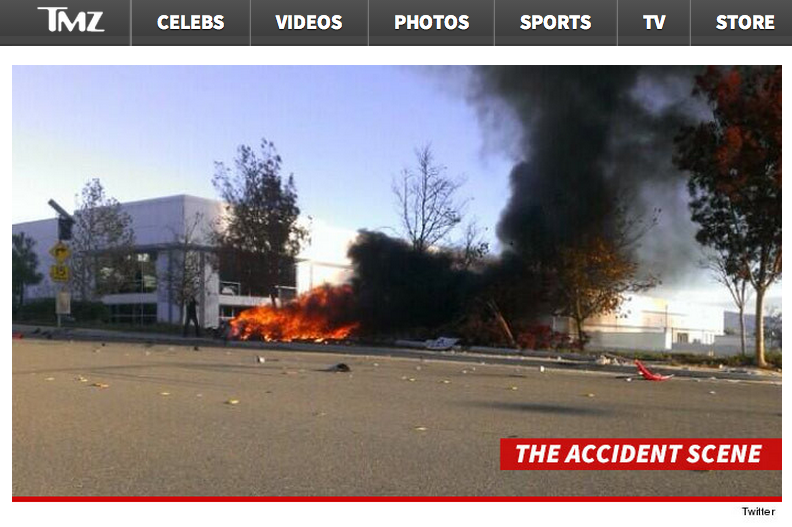 Paul Walker's Car Crash – New Images & Actual Story – Loy Machedo Recommends