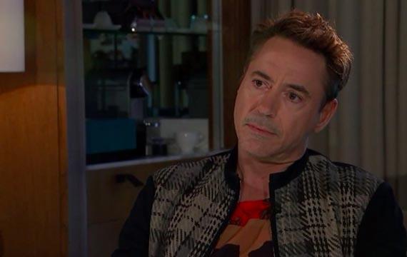 Robert Downey, Jr. walks out of interview