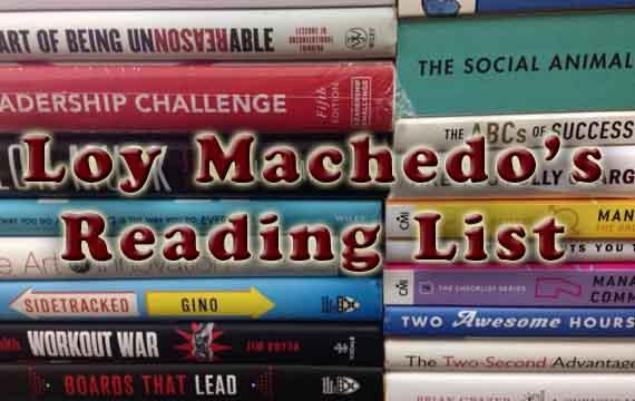 Loy Machedo's Reading List