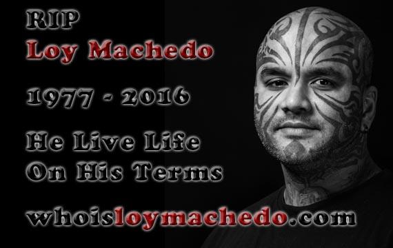 Loy Machedo RIP