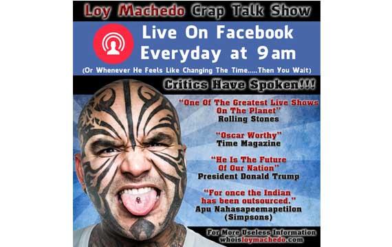 Loy Machedo Talk Show