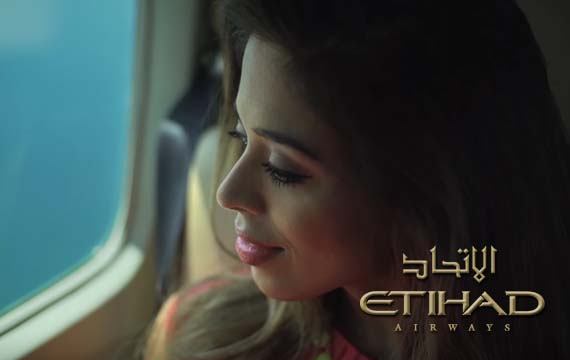 Etihad Airways Advertisement Features Radhicka KC