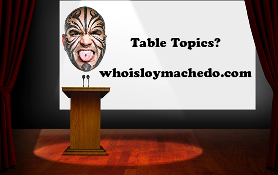 95 TableTopics for Toastmasters Club Meetings