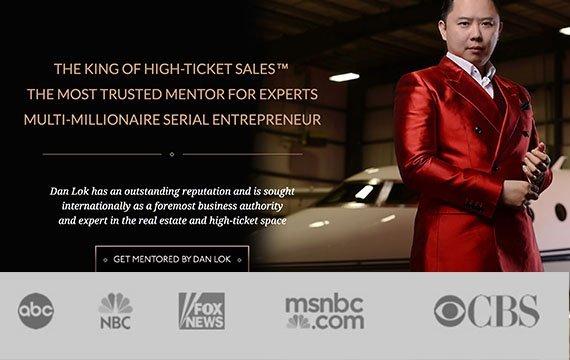 Dan Lok on ABC, NBC, Fox News, MSBC