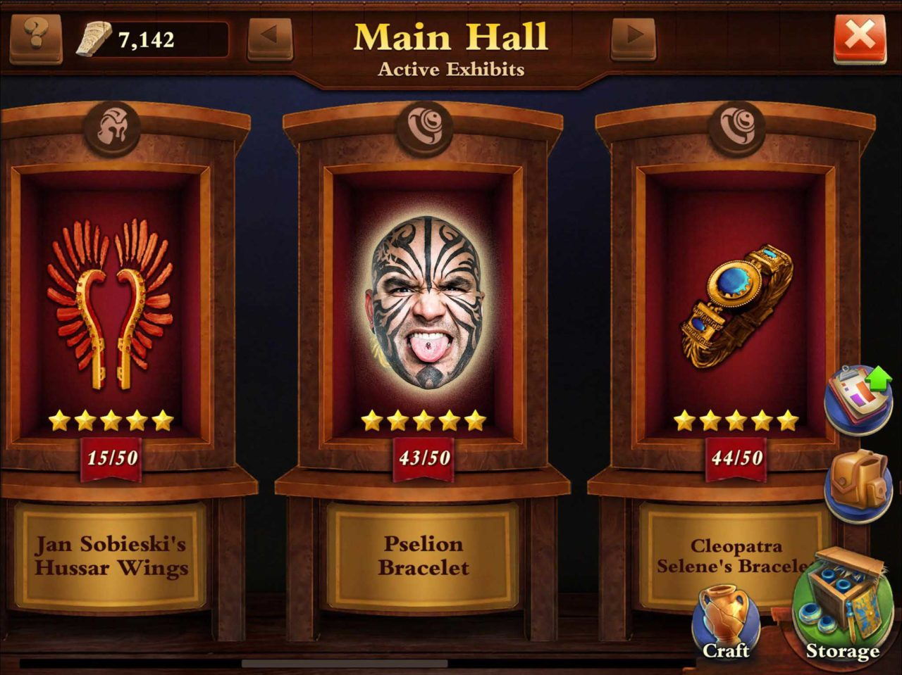 Dominations Artifacts