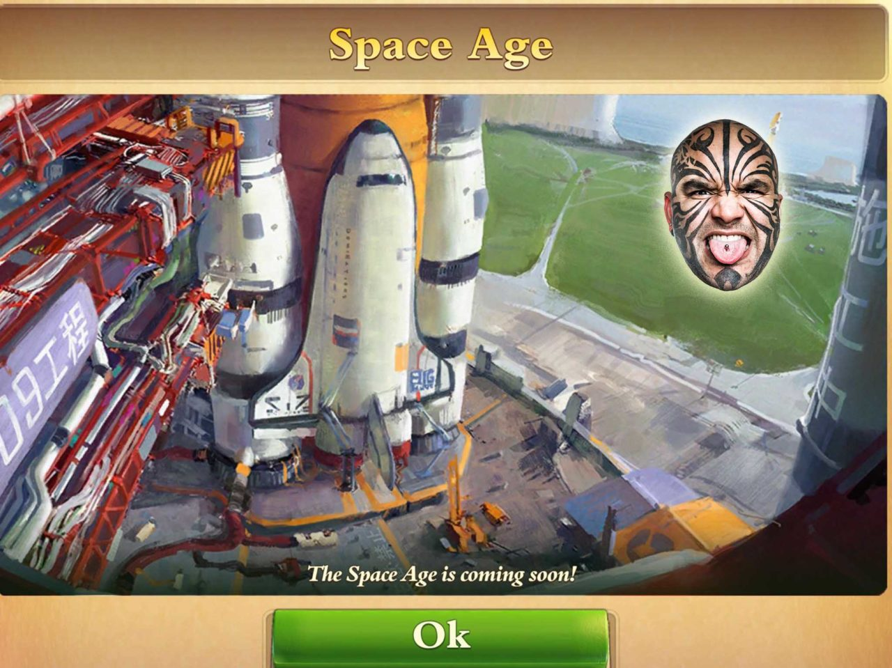 dominations space age