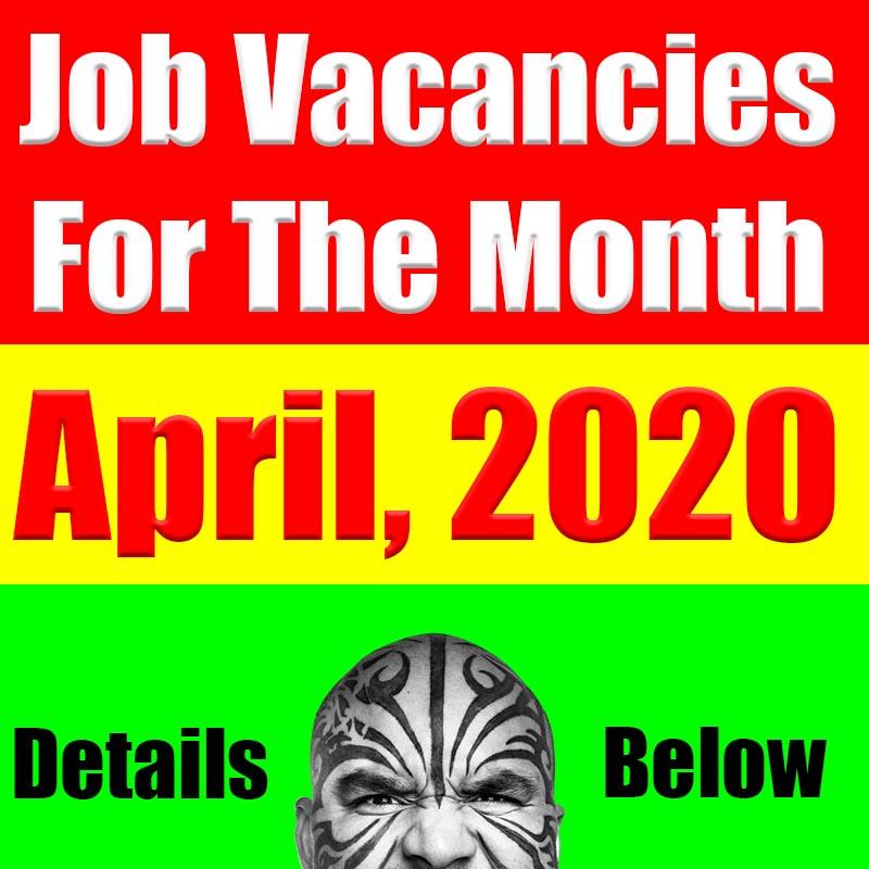 UAE Job Vacancies For April 2020
